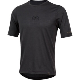 PEARL iZUMi BLVD Merino T-shirt Heren, phantom/black crest
